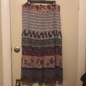 Westport 1x boho skirt